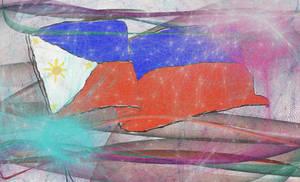 Philippine Flag (Indepence Art)