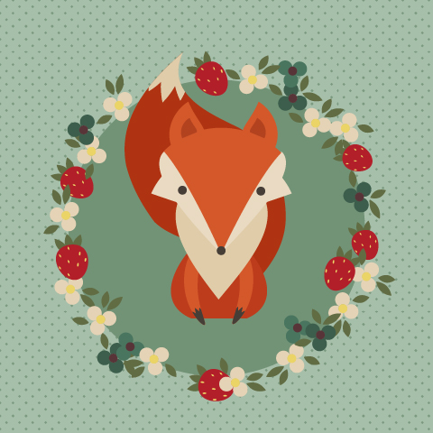 Fox by Leongardo