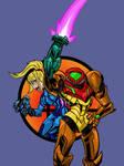 Super Smash Bros: Varia and Zero-Suit Samus by Jonny-Aleksey