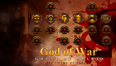 GoW: Ghost of Sparta PSP Theme