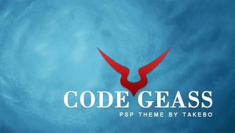 CodeGeass PSP Theme by takebo