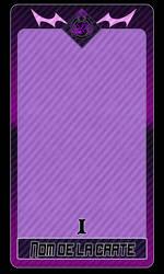 [DEC] Template carte de Tarot by RosesNo