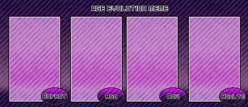 [DEC] Age Evolution Meme by RosesNo
