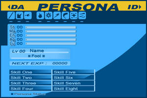 Persona ID Template by AdenSyra