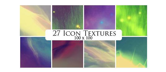 27 icon textures by sabinefischer