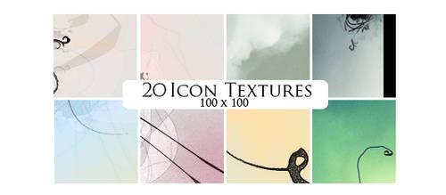 20 icon textures by sabinefischer