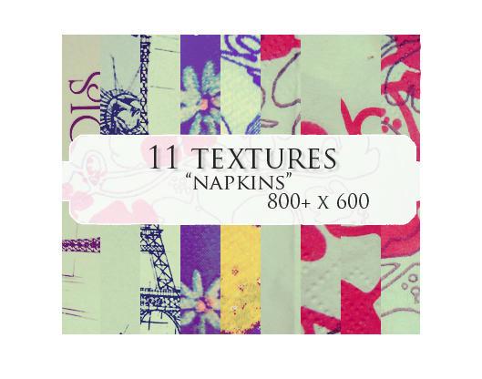 11 textures: napkins by sabinefischer