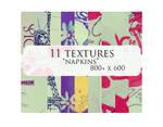 11 textures: napkins