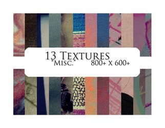 13 textures: misc. by sabinefischer