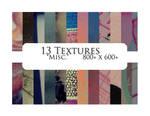 13 textures: misc.