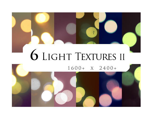 6 textures: light II by sabinefischer