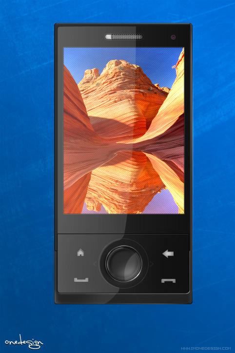 PSD HTC Smartphone by imonedesign