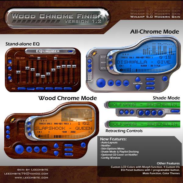 Wood Chrome Finish 1.2d by leechbite