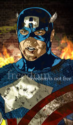 Captain America: Freedom is Not Free GiF