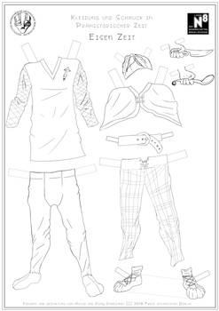 Male Iron Age Clothing
