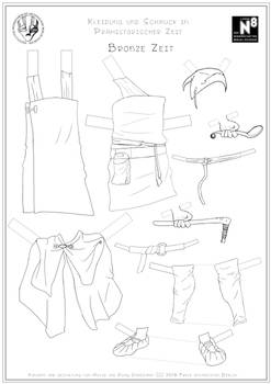 Male Bronze Age Clothing
