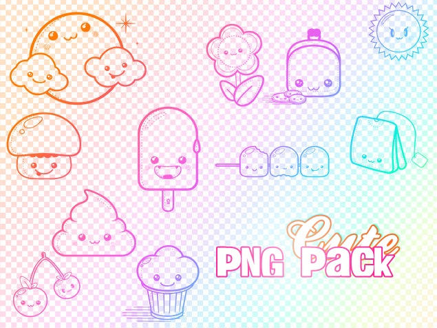 Cute PNG Pack by Jecca...