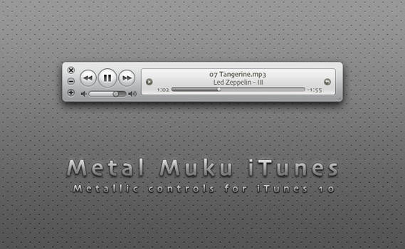 Metal Muku iTunes 10