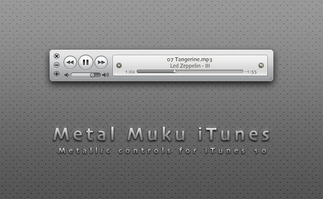 Metal Muku iTunes 10 by hotiron