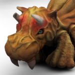Teripo Creature 3D Turntable