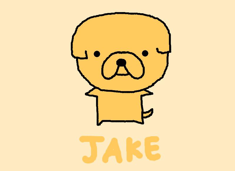 Jake the Dog Chibi (Ad...