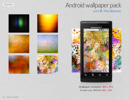 android wallpaper pack 03 by zpecter