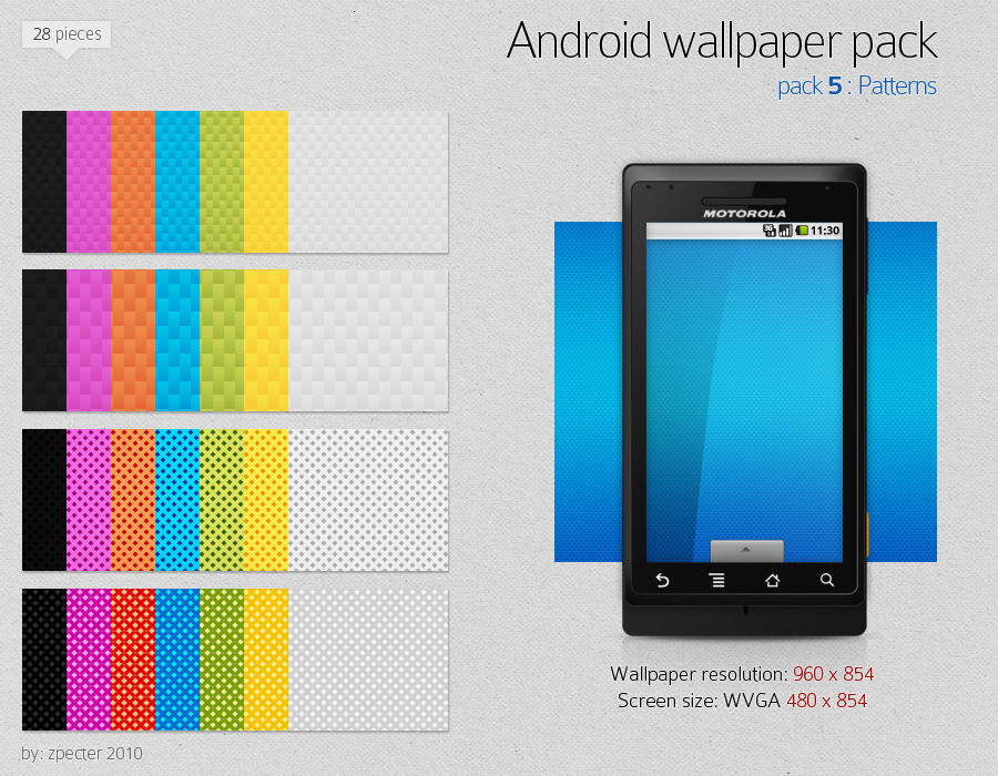 android wallpaper pack 05 by zpecter