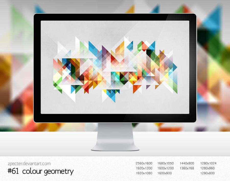 wallpaper 61 colour geometry