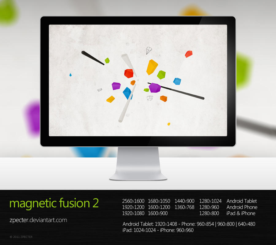 wallpaper 63 magnetic fusion 2 by zpecter