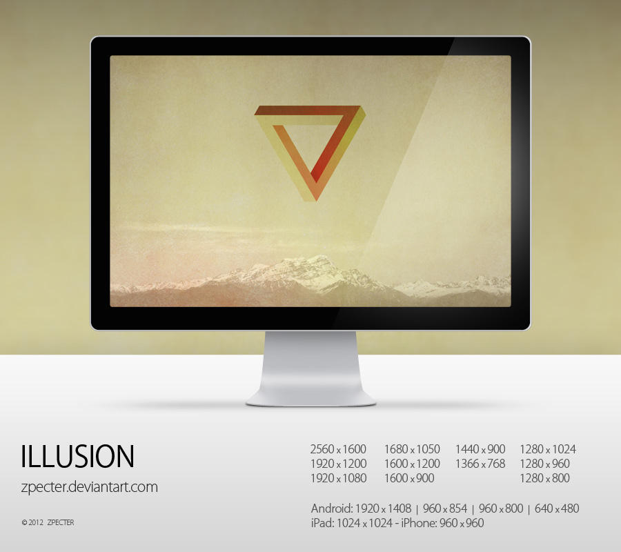wallpaper 73 illusion by zpecter