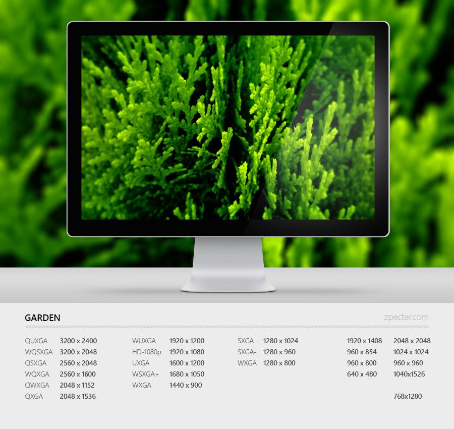 Wallpaper 84 Garden by zpecter