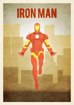 A3 ironman poster
