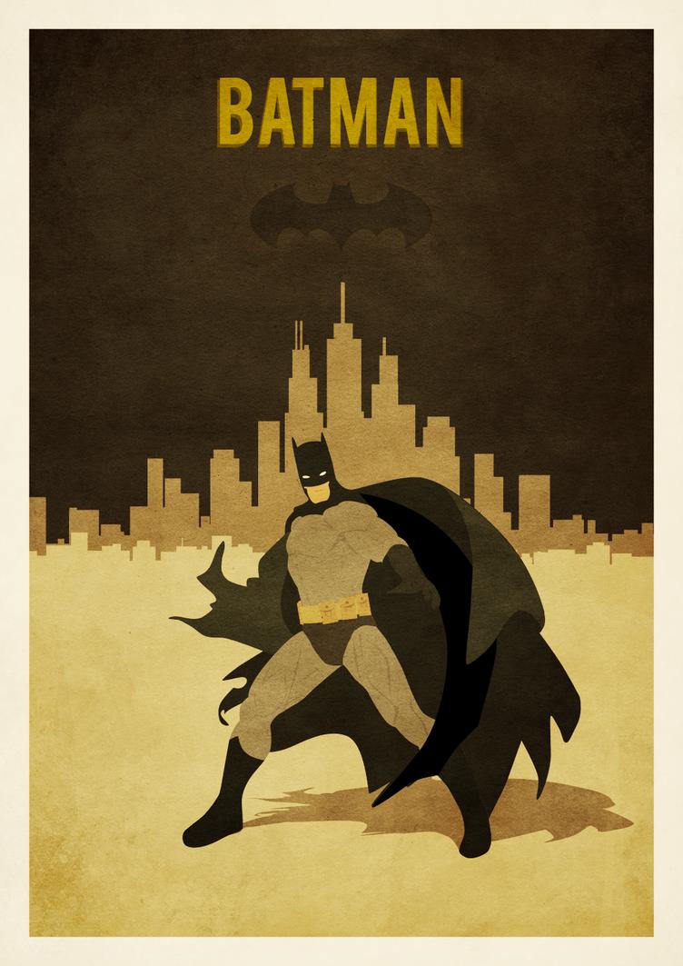A3 poster batman by zpecter on DeviantArt