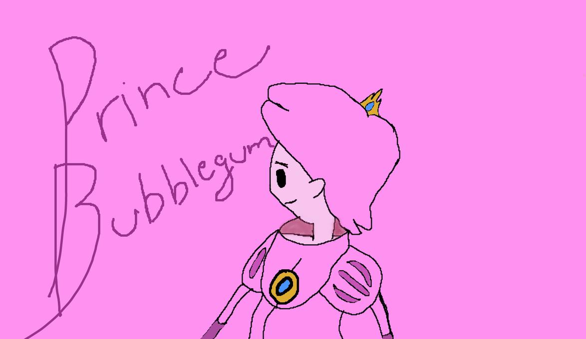 Prince Bubblegum by PastaLaPizza