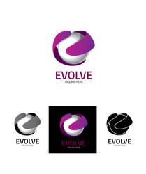 Evolve Logo Templete by ifrahmateenART