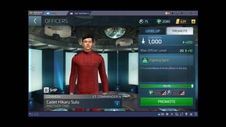 Star Trek Fleet Command Officer upgrading info