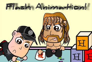 Chibi Wrestlers - Kindergarten by kapaeme