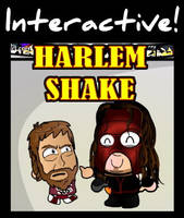 Chibi Wrestlers - WWE Harlem Shake Animation by kapaeme
