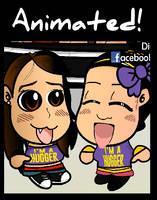 Chibi Wrestlers - Bayley and AJ Lee by kapaeme