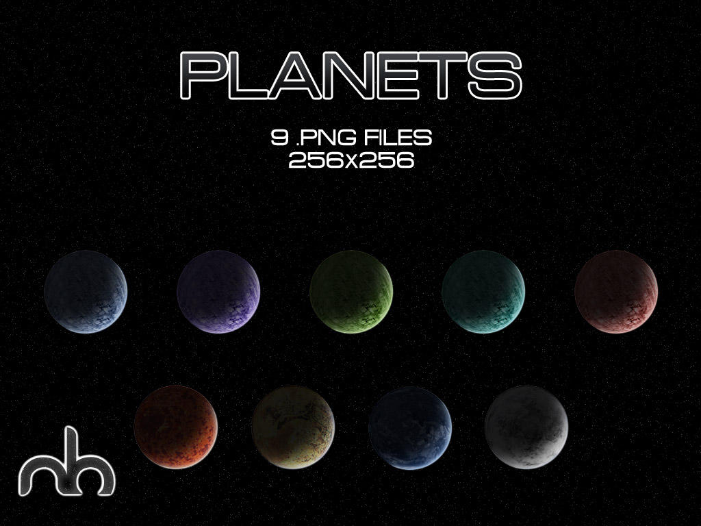 Planets by mbgd