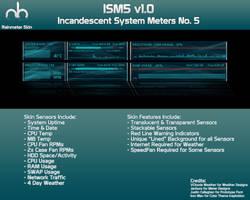Rainmeter Skin ISM5 v1.0 by mbgd