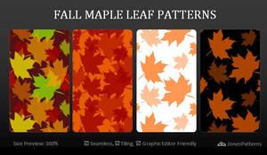 Fall Maple Leaf Patterns