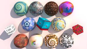 C4D Materials Texture LIB4D by nic022