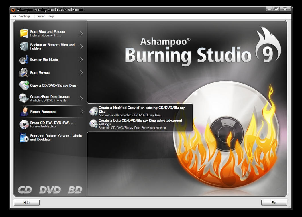 ashampoo burning studio 2009 baixaki