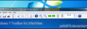 Win7 Toolbar for IrfanView