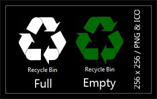 Recycle Bin Icons by Drudger
