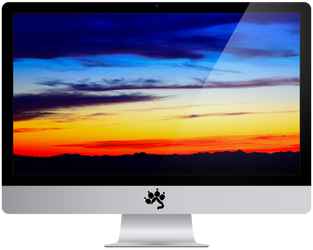Arizona Sunset Vivid - 4k by BluHskyWallpapers