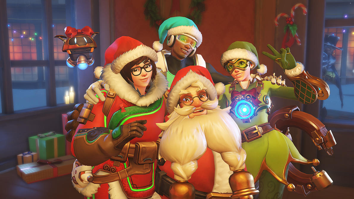 Overwatch Winter Wonderland Wallpaper By Thefatwhitelump On Deviantart