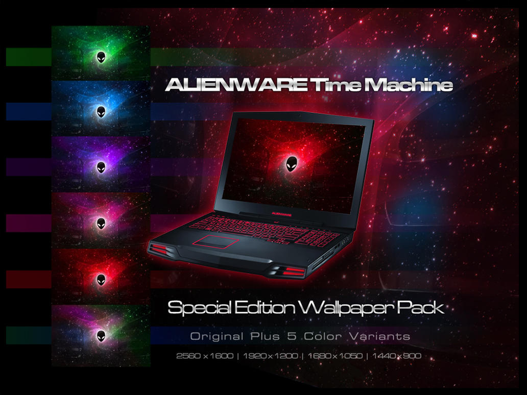 Alienware Time Machine Pack by bladeiai