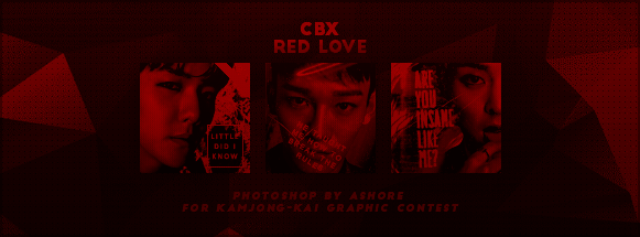 CBX RED LOVE ICONS // KAMJONG-KAI GRAPHIC CONTEST by CHAEY04